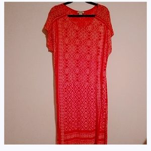 Lucky Brand short sleeve dress sz Xl